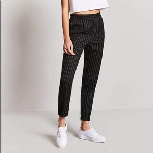 🌟NWOT FOREVER 21 Striped High Waisted Trousers